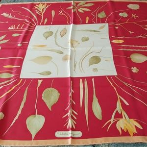 Salvatore Ferragamo Silk Scarf - Autumn colors!